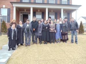 11 феврал, 2012 йил, Жаҳонгир Муҳаммаднинг уйида.