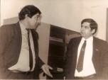 Суратда׃ Дадахон Ёқубов ва Жаҳонгир Маматов (1991).