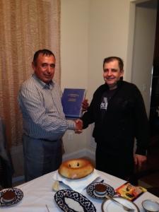 Suratda: Abdulqosim Mamarasulov va Jahongir Mamatov(2014)