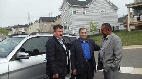 Suratda: Abdurahmon Tashanov, Jahongir Mamatov, Abulqosim Mamarasulov